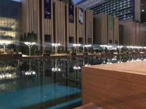 Iran mall musical lake