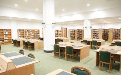روشنایی کتابخانه ها
