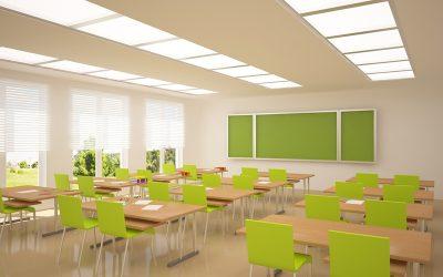 اهمیت روشنایی در مدارس