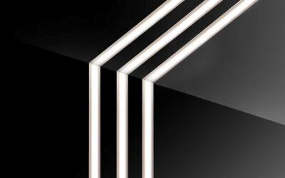 ترکیب کناف و نور خطی در دکوراسیون داخلی ساختمان